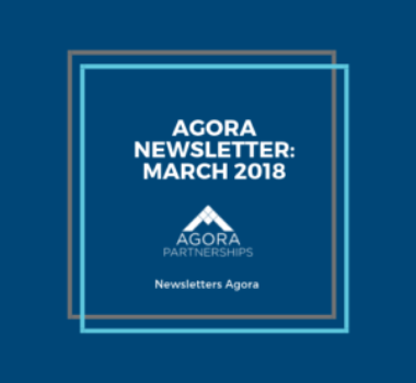 Agora Newsletter: March 2018