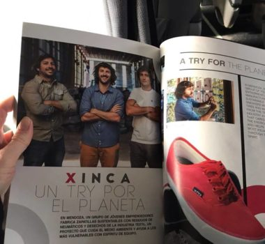 21,805 shoes later, Xinca continues to create an incredible impact.